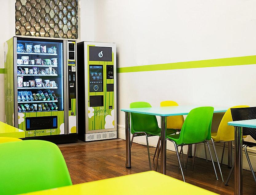 My Green Shop, distributeur automatique bio, distributeurs automatiques bio, distributeur boisson chaude bio, distributeurs boissons chaudes bio