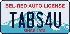 Bel-Red Auto License_License Plate Logo_