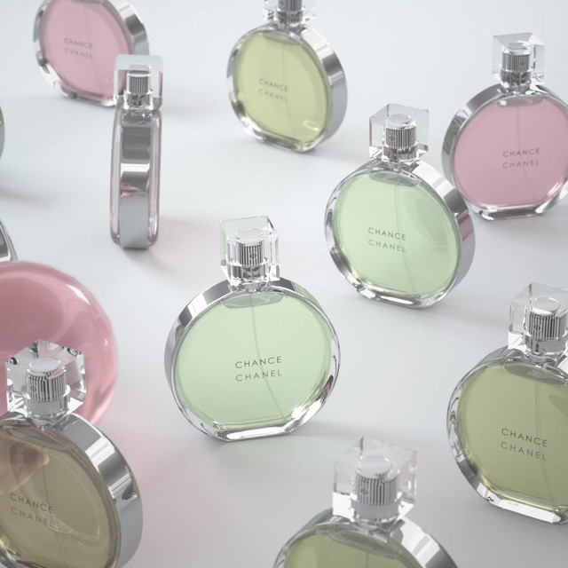 Product Visualisation of Chanel Perfume