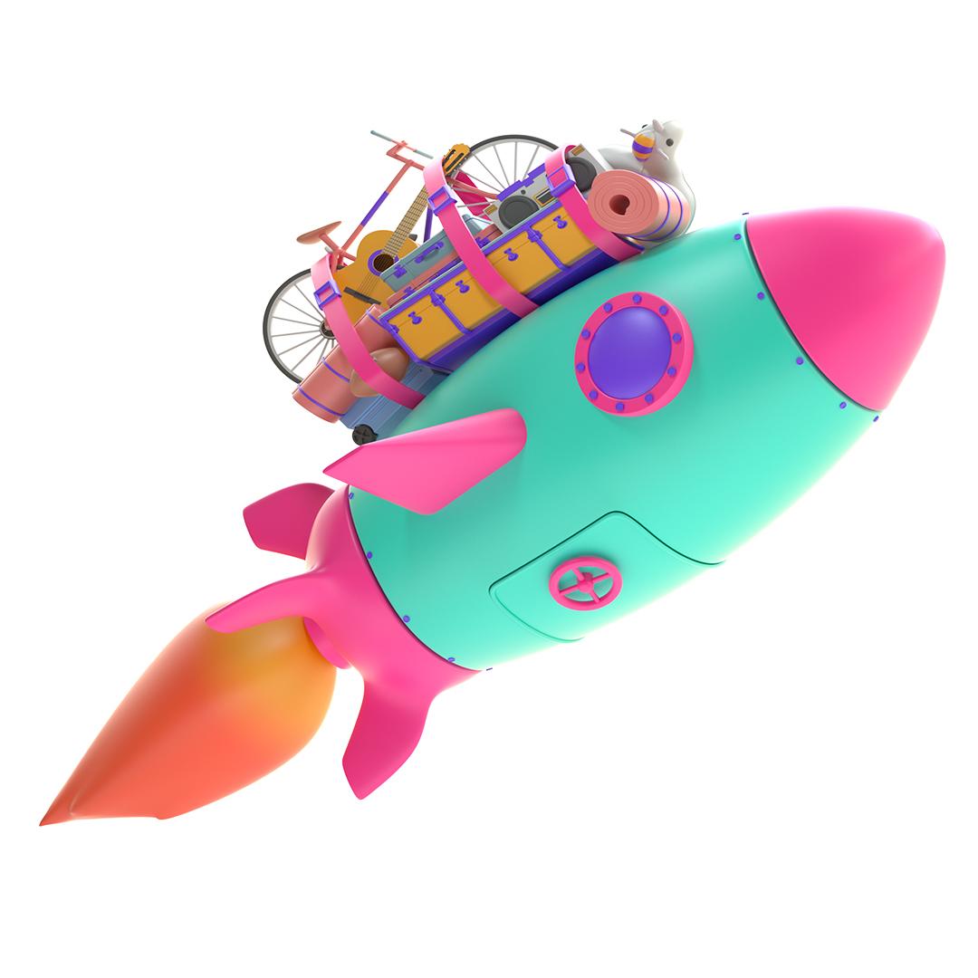 ThreeMobile_Rocket
