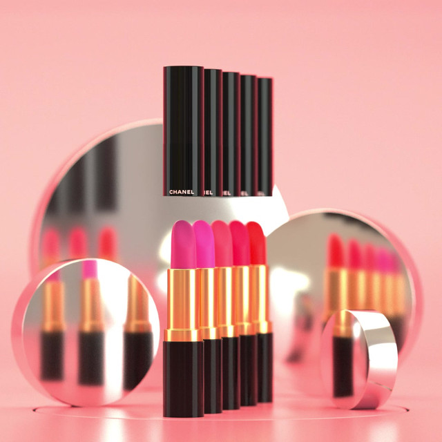 Product Visualisation of Chanel Lipstick