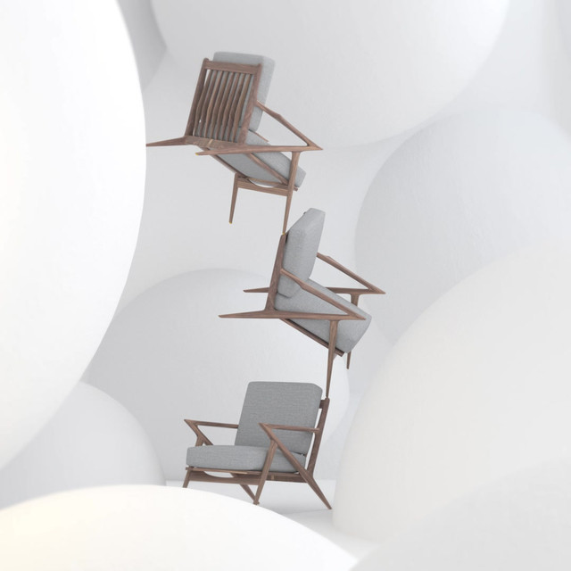 Product Visualisation of Eames Chairs