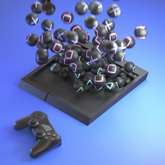 Product Visualisation of Playstation 4