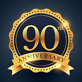 90th-anniversary-celebration-badge-label