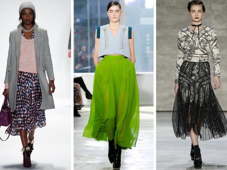 TREND ALERT: The Midi Skirt