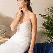 CDF 6 - Alana - 995 € - ivoire blush ou ivoire ou blanc