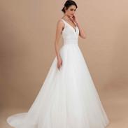CDF 1 - Adagio - 1095 € -ivo blush ou tout ivoire ou tout blanc