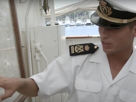 Raúl Torres, Teniente de Navío y antiguo Guardiamarina a bordo de Elcano