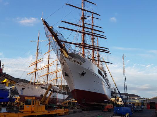 """Sea Cloud II, velero de lujo """"Made in Spain"""""""