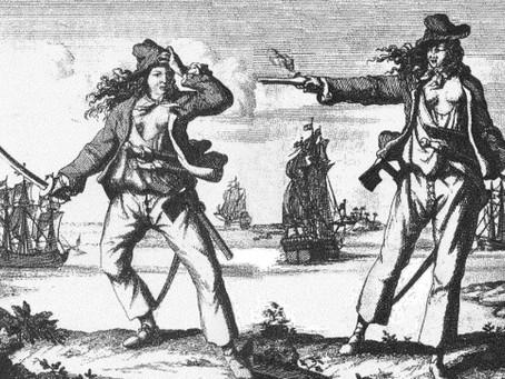 Anne Bonny y Cálico Jack, los amantes piratas