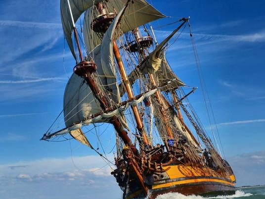 La fragata Shtandart viene a España