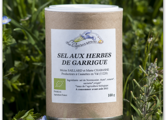 Sel aux herbes de garrigue