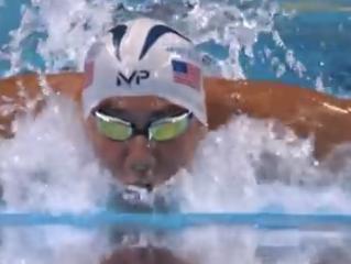 リオ五輪アメリカ代表選考会 200mFLYフェルプス