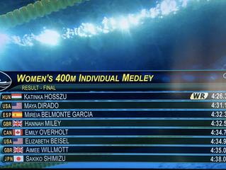 リオ五輪 女子400m個人メドレー 決勝レース WRあり