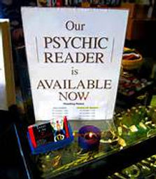 our psychic reader is available now