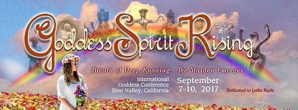 Goddess Spirit Rising International Goddess Conference