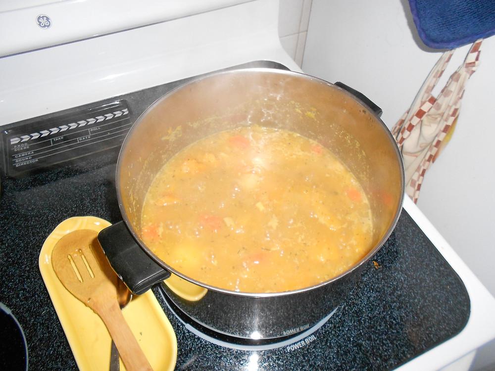 Cooking it down.JPG