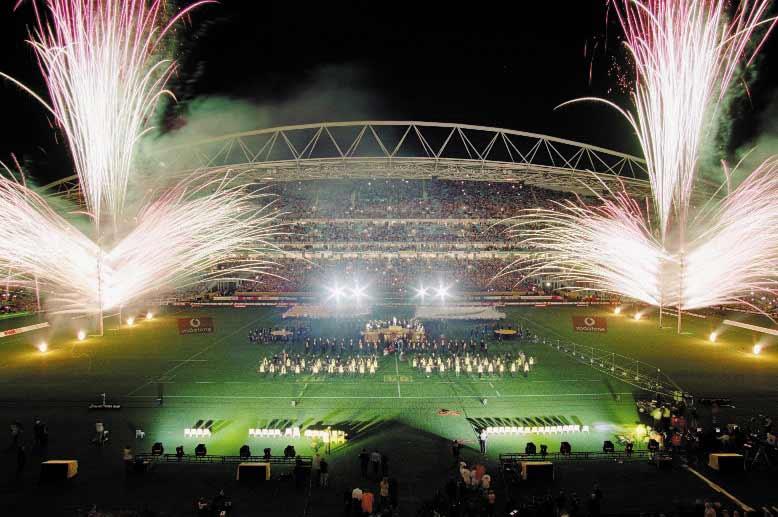Australian Rugby - Prematch entertai