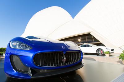 Eventsource helps Maserati toast 100 years at Sydney Opera House