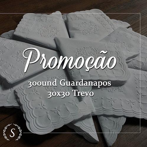 300und -  Guardanapos Jantar Trevo 30x30cm