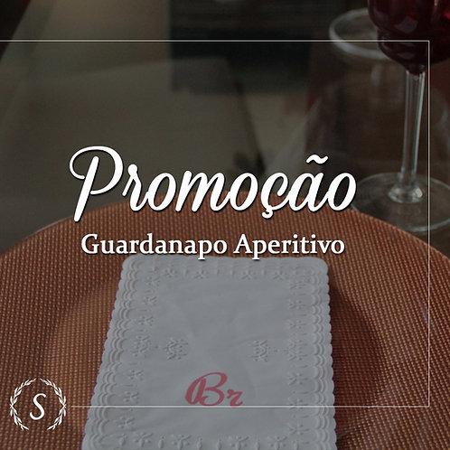 200 UND - Guardanapo Coquetel/Drink/Aperitivo Trevo 15x15cm