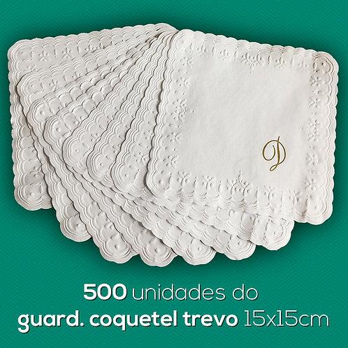 GUARD. COQUETEL TREVO 15X15CM - 500und