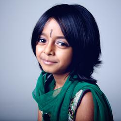 barn portrett