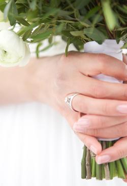 Bryllup - detalj