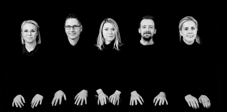 Norsk lysdesign gruppe bilde Portrett, cv bile, ansatt bilde