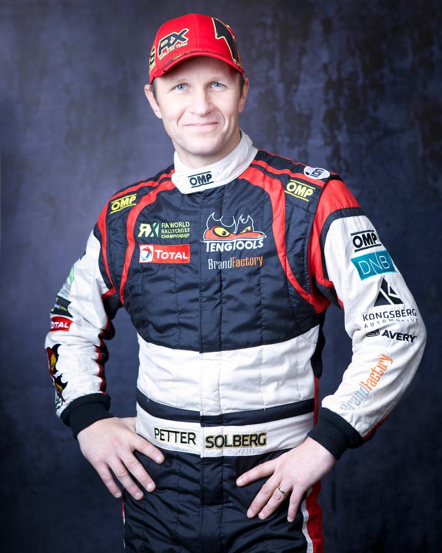 Petter Solberg Portrett, cv bile, ansatt bilde