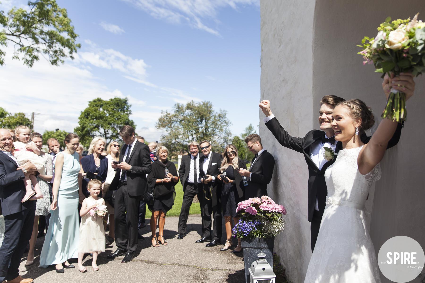 Bryllup - etter sermoni
