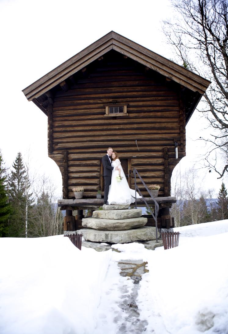 Bryllup vinter - Lysebu
