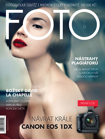 COVER FOR FOTO MAGAZINE
