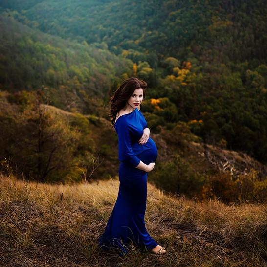 těhotenské focení Brno