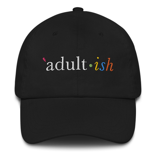 Adult-ish - Hat (dark)