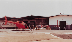helicopteros hangar