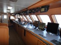 equipo electronico en barco atunero mode