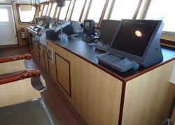 puente de mando barco atunero remodelado