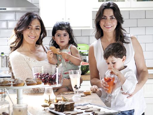 Sol Fliman y María José Buttazzoni: Niños, a comer
