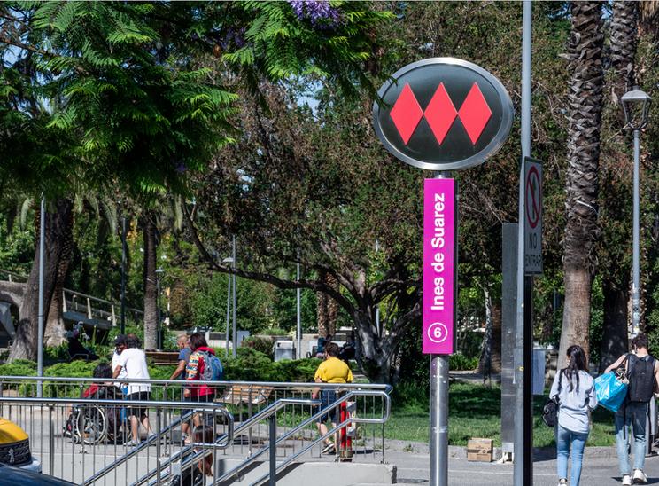 Metro Inés de Suarez