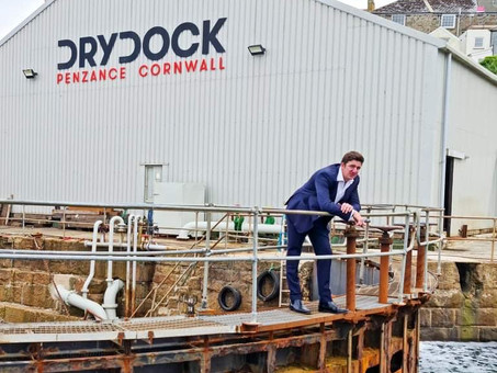New Owner Announced for Penzance Dry Dock