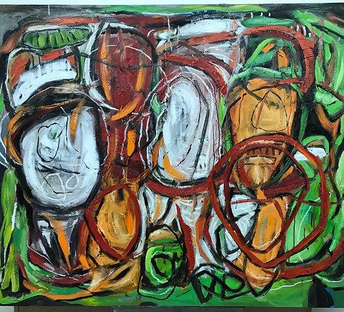 THE GREEN CIRCLES. CIRCLES OF LIFE SERIES