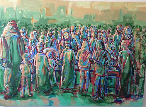 CHILDREN AT THE MARKET