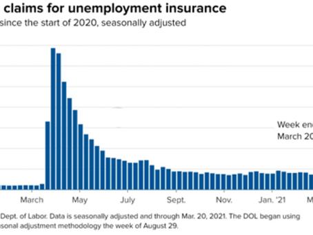 恒譽金融 | 美國首次申請失業救濟人數降至一年來最低水平,加拿大疫苗供應繼續面臨挑戰