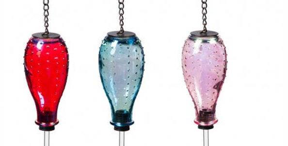 Luster Glass Hummingbird Feeder