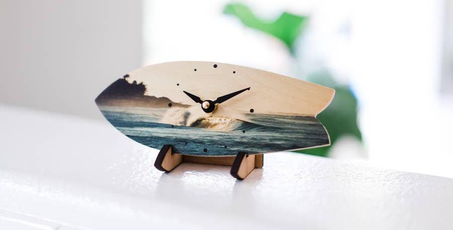 Dawn Patrol table clock