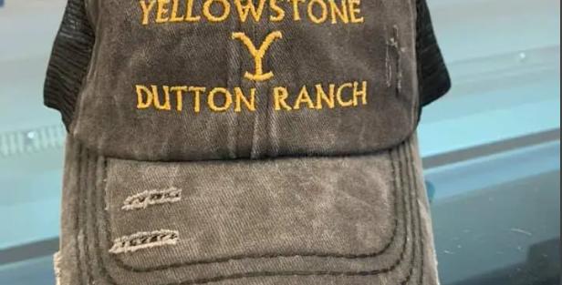 Yellowstone Dutton Distressed hat
