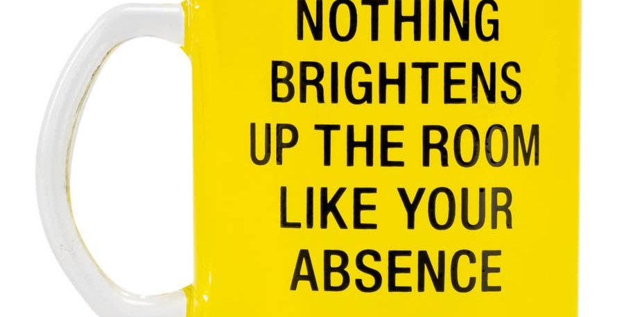 Your Absence Glass Mug