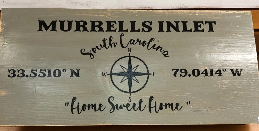 Murrell's Inlet Sign