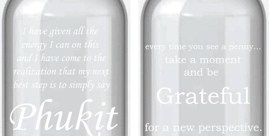 Phukit Apothecary Jar Clear